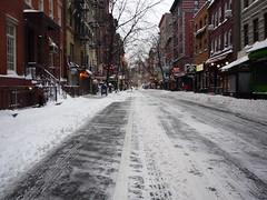 Snow, New York, Greenwich Village, December 20, 2009
