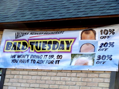 Bald Tuesday @ Arizona Mexican Restaurant