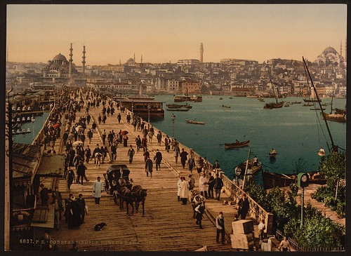 [Kara-Keui (Galata) bridge, Constantinople, Turkey] (LOC)