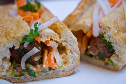 banh mi close-up