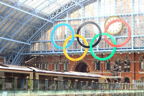 St Pancras International; your Olympic station