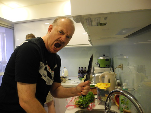 Ron in the Kitchen Taking on the Dill