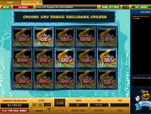 free Ocean Fantasy slot bonus game