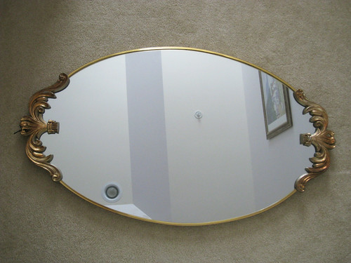 Full length Gold Mirror