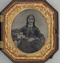 Mother Ambrotype (Mirror Image Gallery) Tags: ambrotype victorianchildren victoriantoys