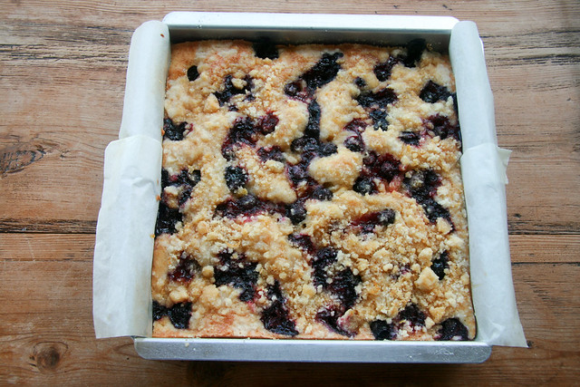 Lemon Blueberry Buckle