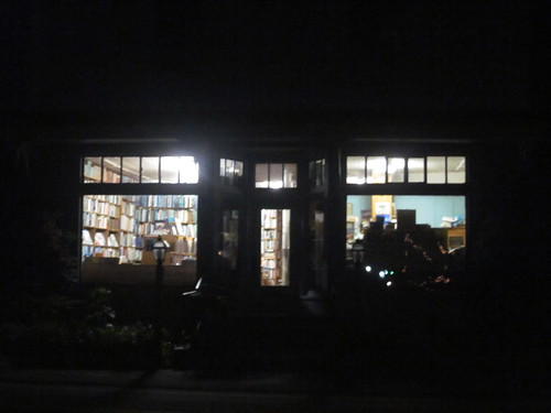 Parnassus Books at Night