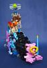 """We Can Make a Bat-submarine… (Patent Pending)"": LEGO Movie Submarine Front View (Imagine™) Tags: lego benny rainbows emmet wyldstyle vitruvius cloudcuckooland unikitty imaginerigney micromanagers thelegomovie legomoviesubmarine"