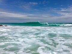 Inji Love 1 (vwhite@y7mail.com) Tags: sunset beach iphone shotoniphone nature westernaustralia australia travel sun sunshine ocean surfers yallingup turquoise southwest surf waves