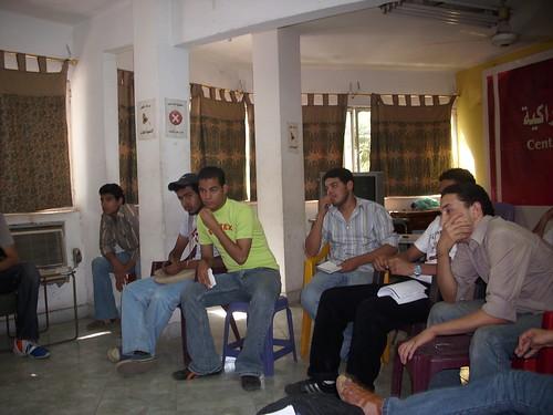 ندوة الحركة الطلابية و العمل الجبهوي، اللجنة التنسيقية لطلاب مصر مثالاً