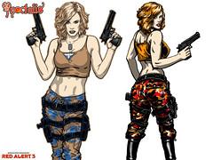 Agent Tanya Concept Art
