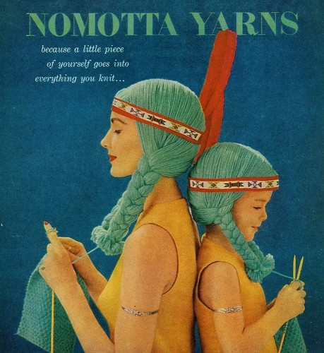 vintage nomotta yarn ad