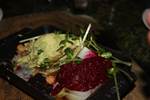 I think this was Rands. Beets or something. It was awesome.