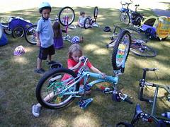 Bike Camp at Cycle Oregon Weekend Ride