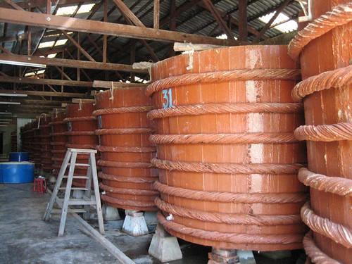 Fish sauce barrels