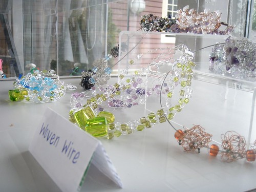 woven wire student display