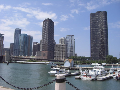 Chicago Skyline from the Riverfront