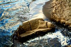 Thames sofa (charliedotgilbert) Tags: sculpture london beach water thames river sand wave southbank erosion sofa cushion gabrielswharf londonist charliegilbert consciousimages