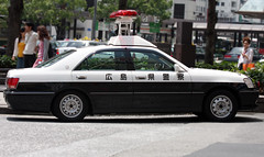 Hiroshima Police Toyota Crown (Code20Photog) Tags: police hiroshima toyota crown deapartment