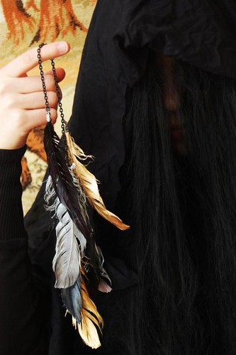 Youth vs. Future feather jewelry 5
