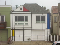 Mondrian House (slowpoke_taiwan) Tags: sanfrancisco house art oceanbeach mondrian piet greathighway pietmondrian