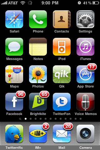 iPhone - 12 Pages of Apps