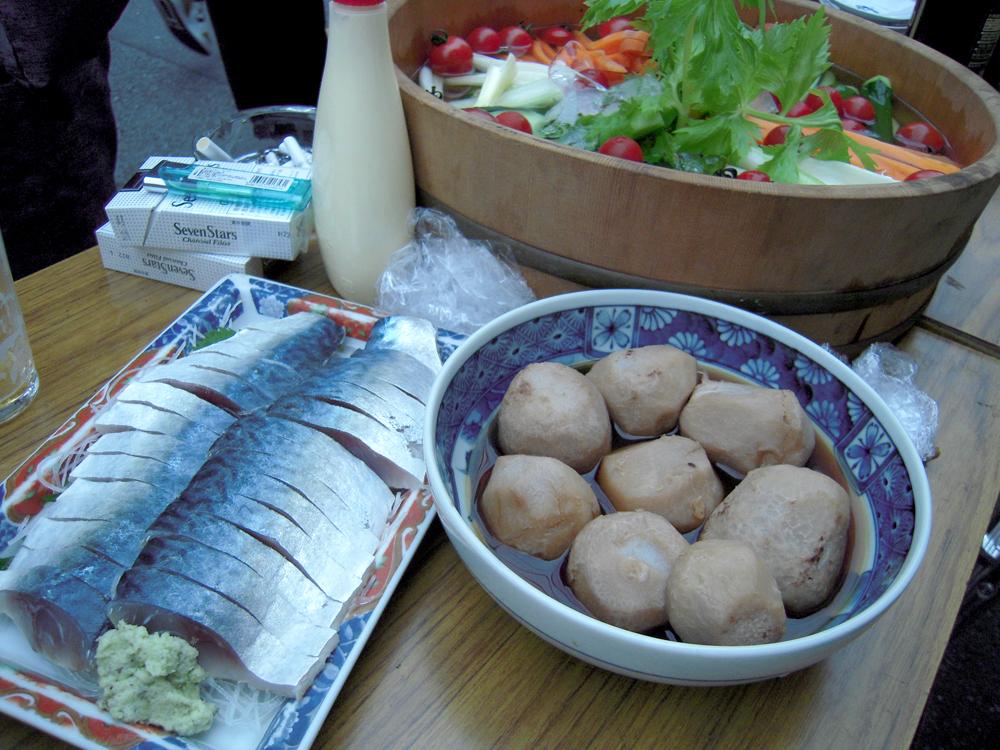 Washio Saba, Satoimo, Veggies