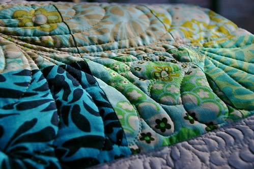 detail, quilt from the peppermint patcher