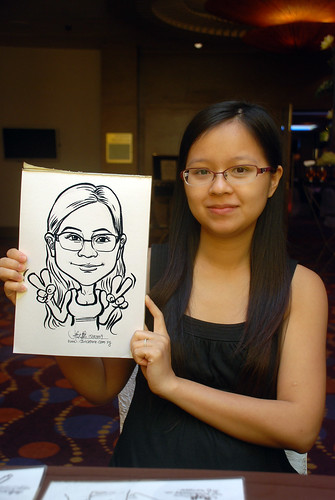 Caricature live sketching for Standard Chartered Bank - 17