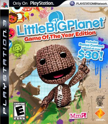 LittleBigPlanet Game Of The Year Back