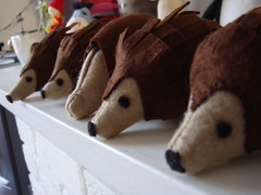Hedgehogs in production