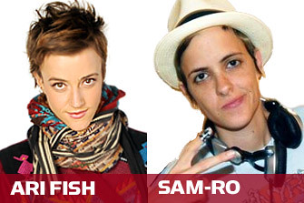 Anyone thought it was kind of fascinating that Ari Fish looked a LOT like Lindsay Lohan's ex Samantha Ronson? by feastoffun.