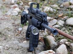 XCR (t i g) Tags: zombie guns robinson ar15 223 eotech semiautomatic assaultrifle xcr 556mm blackrifle aimpoint robarms robinsonarms xcrl