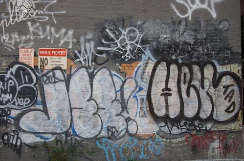 Graffiti on Grey