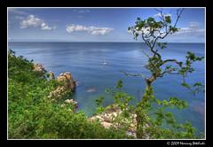 Helligdomsklipperne (Mariusz Petelicki) Tags: island balticsea hdr bornholm 3xp morzebałtyckie wyspa helligdomsklipperne mariuszpetelicki