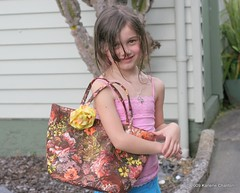 Rylee and her bag