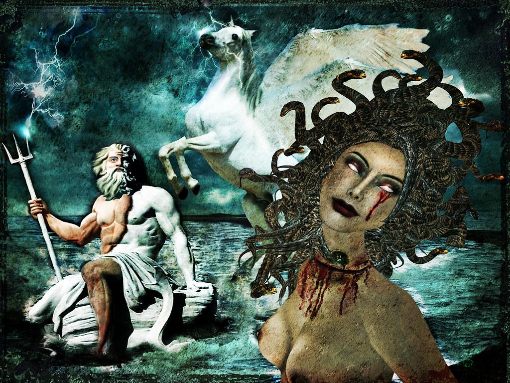 Images of Medusa And Poseidon - #rock-cafe