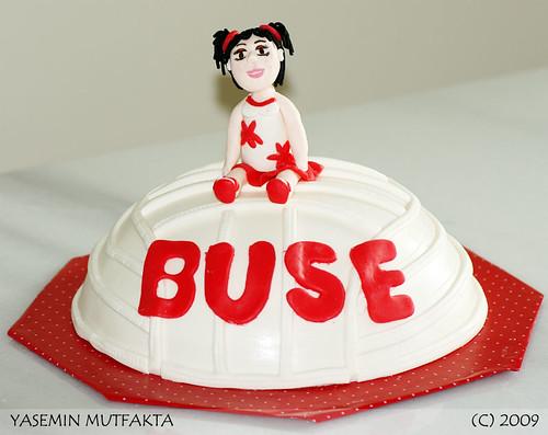 Buse'nin Voleybol Sevdasi Pastasi / Volleyball Cake