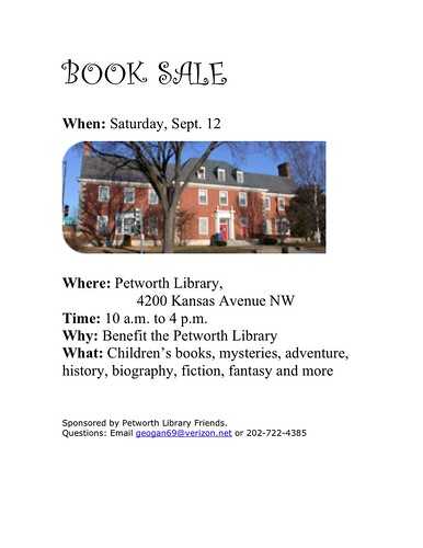 Library Sale Flyer