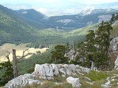 panorama da Monte Pollino