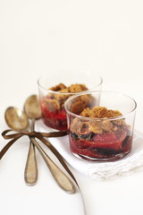 Streusel figues framboises 1