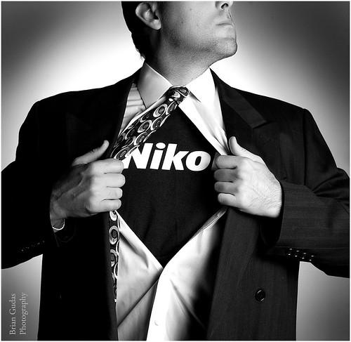 Nikon Man (263/365)