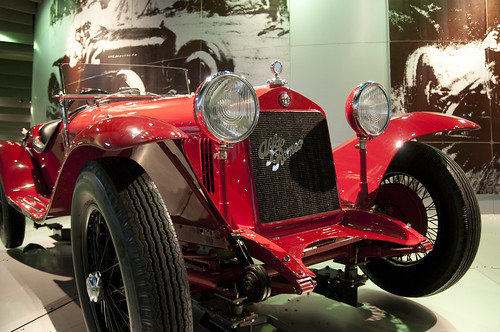 Alfa Romeo 6C 1750 Gran Sport, Toyota Automobile Museum, Nagoya