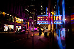 The lights will inspire you (Lidia Camacho) Tags: city music newyork girl radio walking lights hall shadows rockefellercenter landmark tourist entertainment destination around rockefeller venue radiocitymusichall leading turning avenueoftheamericas showplaceofthenation