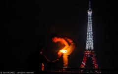 Fire-Eaters (Sam OULMOU) Tags: tower fire tour sam eiffel 2009 feu eater fireeater cracheur oulmou samoulmou