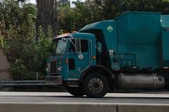 CITY OF LOS ANGELES SANITATION TRUCK (Navymailman) Tags: trash truck garbage