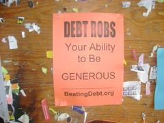 Anti-Debt NCSU Poster