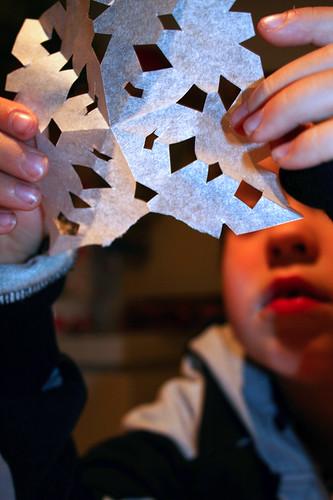 Crafting snowflake 5