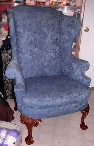 New Blue Chair - Nice