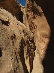 Little Wild Horse Canyon, near Goblin Valley S...